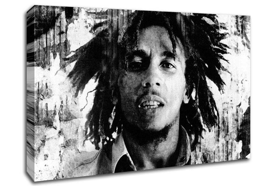 Bob Marley Canvas Art | Wallartdirect.co (Image 6 of 20)