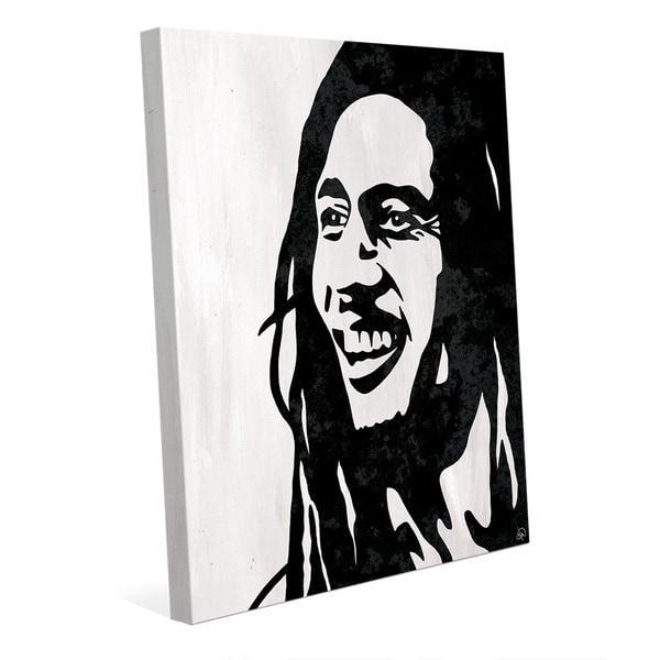 Bob Marley' Canvas Wall Art Print – Free Shipping Today For Bob Marley Canvas Wall Art (View 16 of 20)