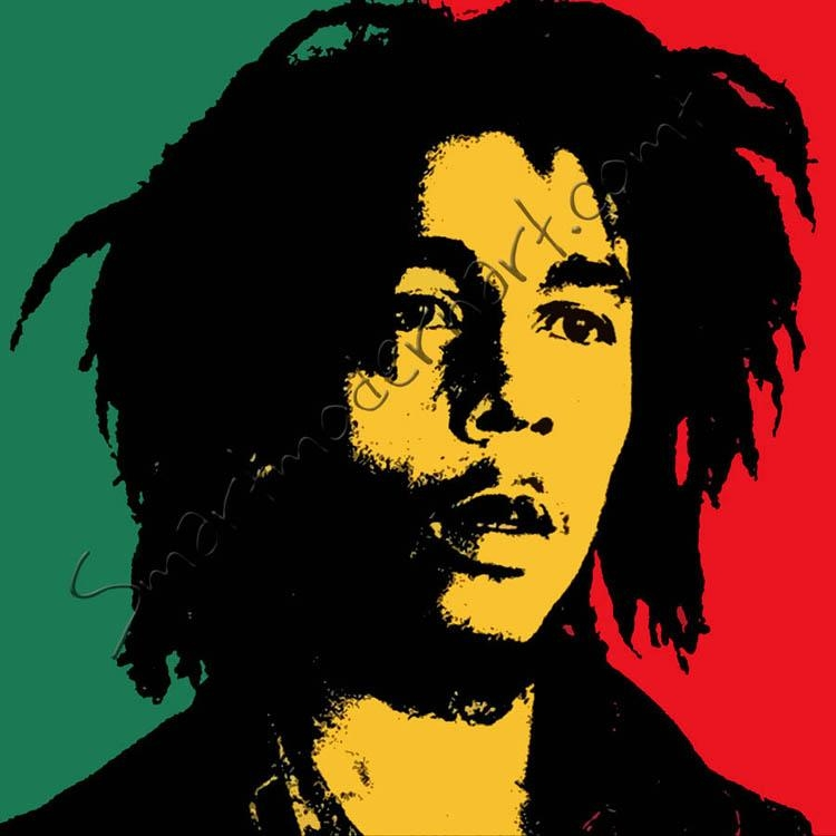 Bob Marley Wall Art Throughout Bob Marley Canvas Wall Art (Image 11 of 20)