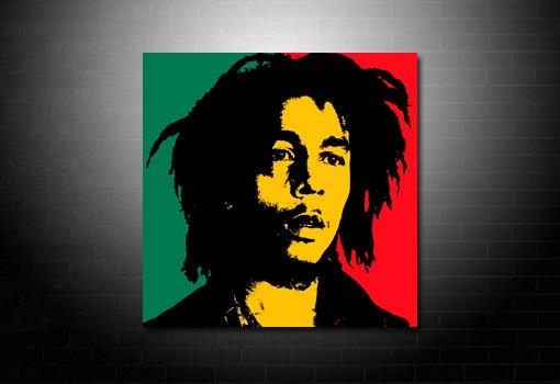 Bob Marley Wall Art With Regard To Bob Marley Canvas Wall Art (View 13 of 20)