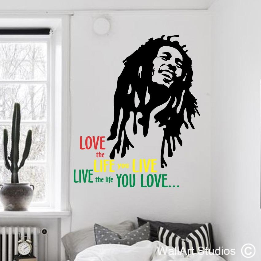 Bob Marley – Wallart Studios Within Bob Marley Wall Art (Image 9 of 20)