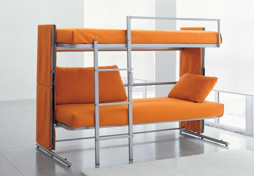 Bonbon's Brilliant Doc Sofa Transforms Into A Bunk Bed In A Snap Inside Sofas Converts To Bunk Bed (Image 5 of 20)