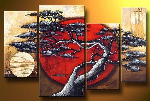 Bonsai Moon : Cheap Wall Art, Real Wholesale Prices Intended For Cheap Abstract Wall Art (View 16 of 20)