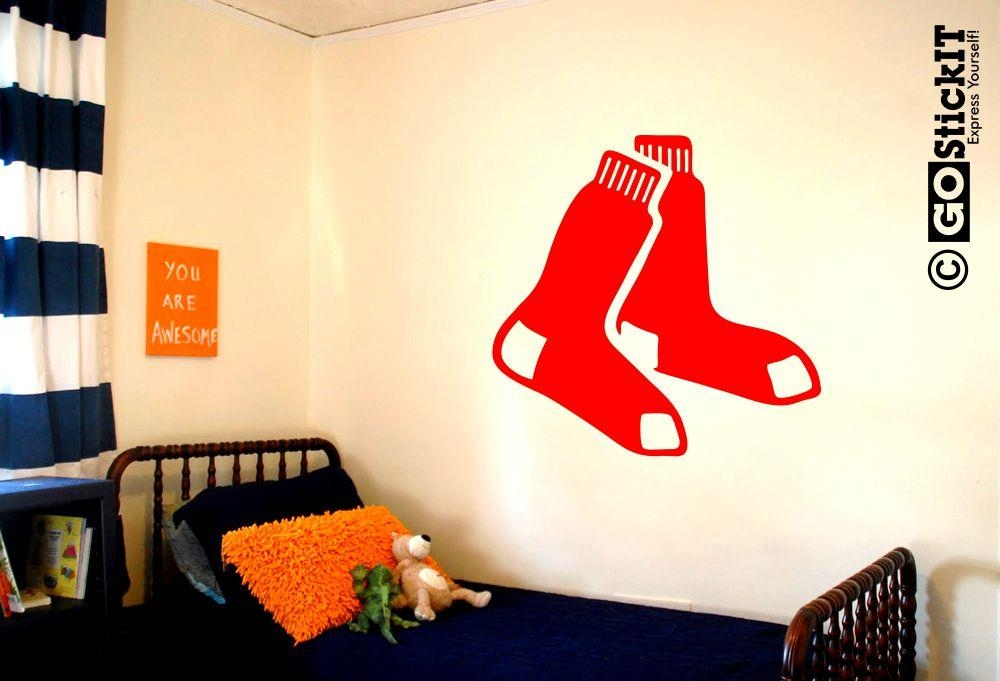 Featured Image of Red Sox Wall Decals