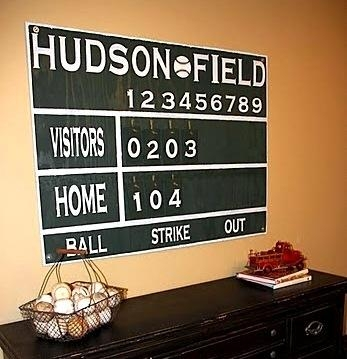 Boys' Baseball Room Ideas | Kidspace Interiors Intended For Vintage Baseball Wall Art (Image 12 of 20)
