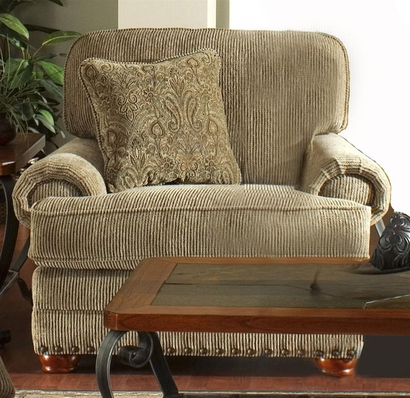 Bradford Sofa In Sand Chenillejackson Furniture – 4293 03 In Chenille Sleeper Sofas (Image 7 of 20)