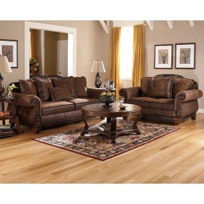 Bradington – Truffle Living Room Set Signature Design | Furniture Cart Regarding Bradington Truffle Sofas (View 8 of 20)