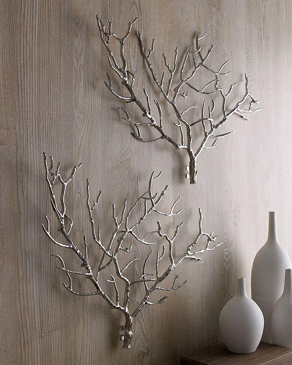 Branch Out! Decorating With Branches | Decorating, Metals And Craft Regarding Tree Branch Wall Art (Image 8 of 20)