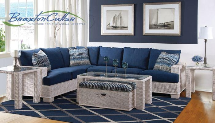 Braxton Culler Indoor Wicker Furniture | Patiosusa With Braxton Sofas (Image 6 of 20)