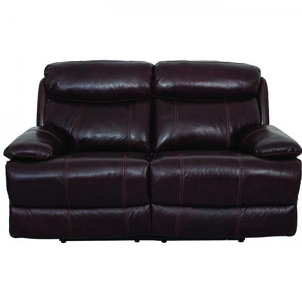 Braxton Leather Living Room – Reclining Sofa & Loveseat (Uxw9872 Regarding Braxton Sofas (Image 9 of 20)