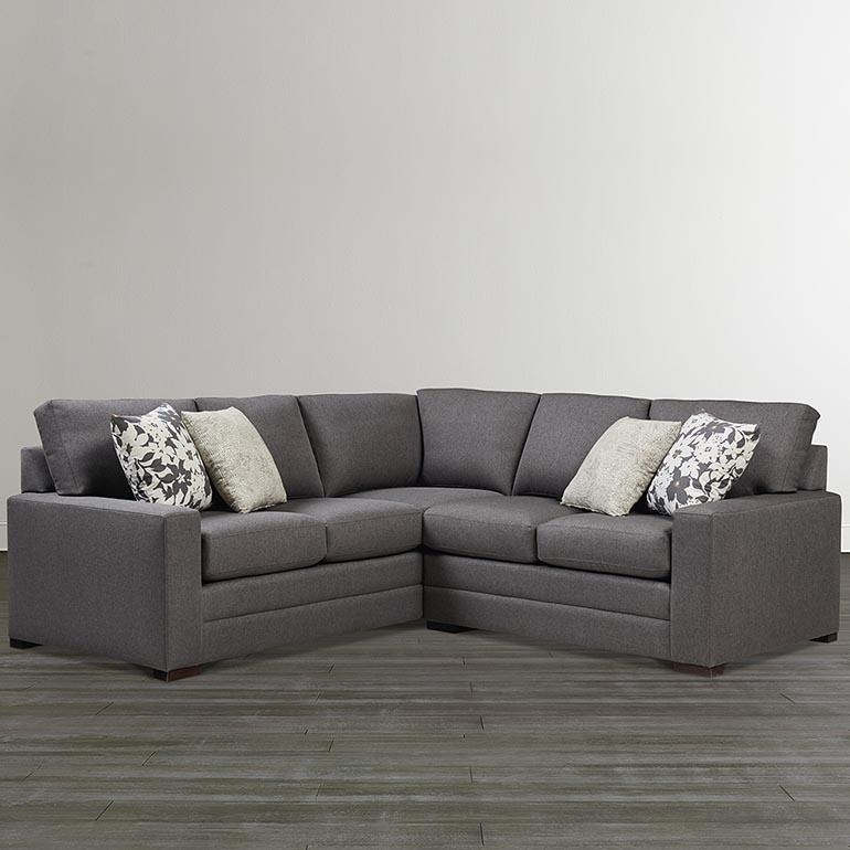 Braylen Small L Shaped Sectional | Bassett Home Furnishings With Small L Shaped Sectional Sofas (View 20 of 20)