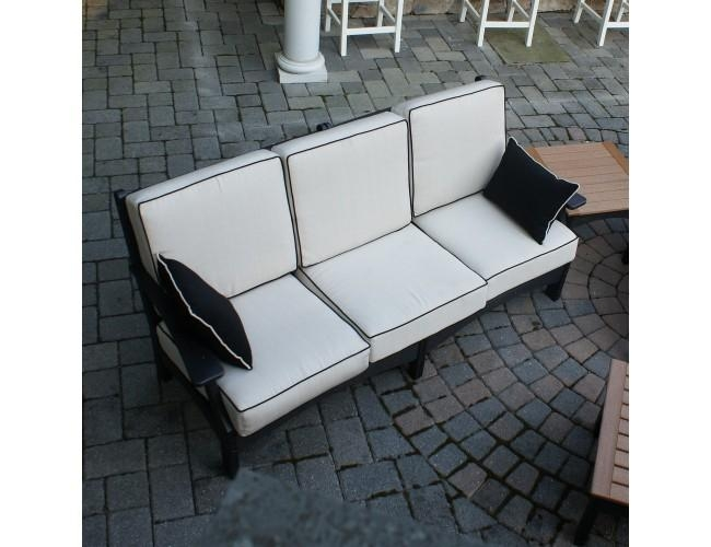 Breezesta Piedmont Collection Recycled Poly Lumber Sofa (Frame Only) For Piedmont Sofas (Image 2 of 20)