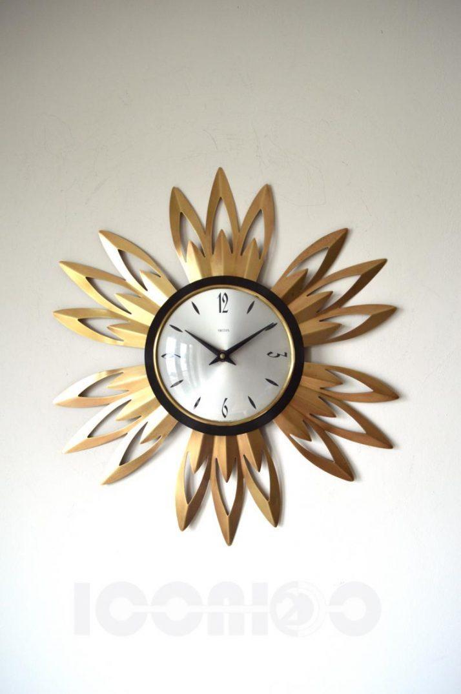 Bright Italian Ceramic Wall Clock 130 Italian Ceramic Wall Clock Within Italian Ceramic Wall Clock Decors (Image 8 of 22)