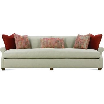 "Bristol 98"" Sofa With Bench Cushionrobin Bruce Furniture For Bench Cushion Sofas (View 11 of 20)"