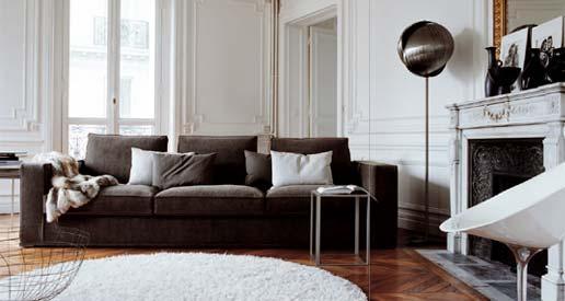Brown Velvet Couch – Transitional – Living Room Intended For Brown Velvet Sofas (Image 3 of 20)