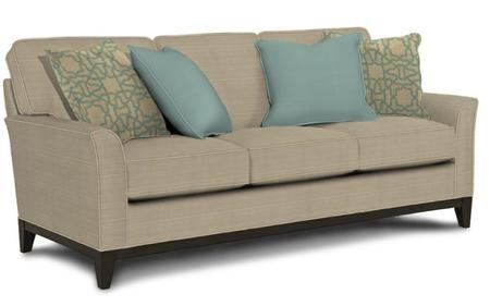 "Broyhill Perspectives Collection 4445 3 80"" Sofa With Pillows In Broyhill Perspectives Sofas (Image 7 of 20)"