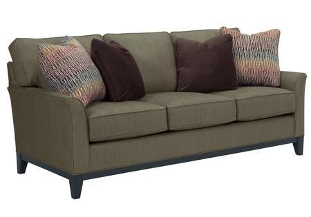 """Broyhill Perspectives Collection 4445 3 80"""" Sofa With Pillows Within Broyhill Perspectives Sofas (Image 8 of 20)"""