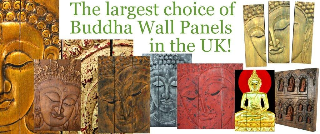 Buddha Statues And Ornaments, Wooden Buddha Wall Art Panels And Inside Buddha Wooden Wall Art (Image 2 of 20)
