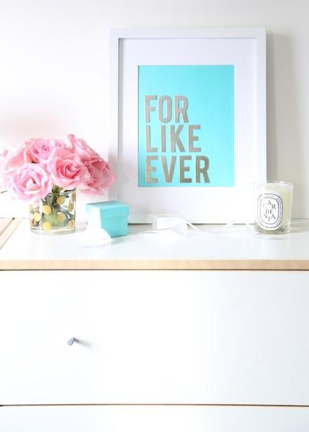 Budget Diy: Make Chic Wall Art With Your Tiffany & Co (View 10 of 20)