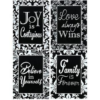 Bulk Decorative Accents At Dollartree Intended For Inspirational Wall Plaques (Image 9 of 20)