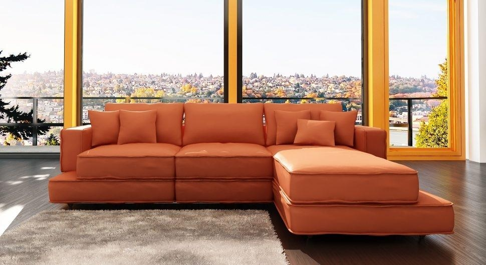 Burnt Orange Leather Sofa | Fraufleur Throughout Burnt Orange Leather Sofas (View 12 of 20)