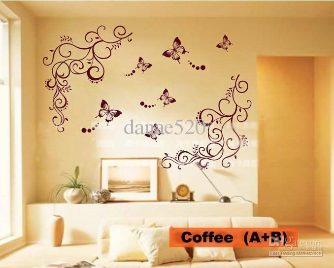 20 Best Ideas Butterflies Wall Art Stickers | Wall Art Ideas