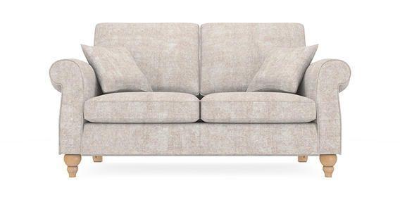 Buy Ashford Medium Sofa (3 Seats) Sumptuous Velour Light Stone Low Throughout Ashford Sofas (View 10 of 20)