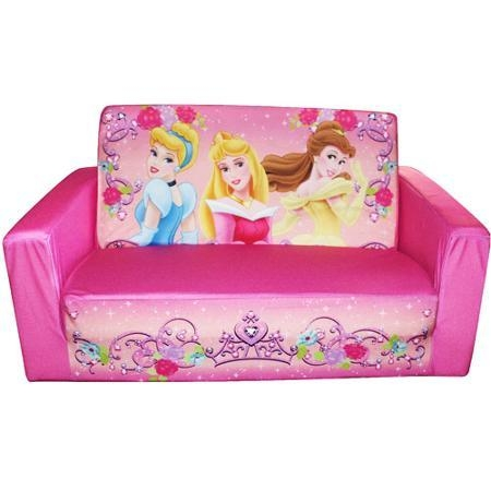 Buy Fun Furniture Flip Open Sofa Disney Princess Pink In Cheap Pertaining To Princess Flip Open Sofas (View 4 of 20)