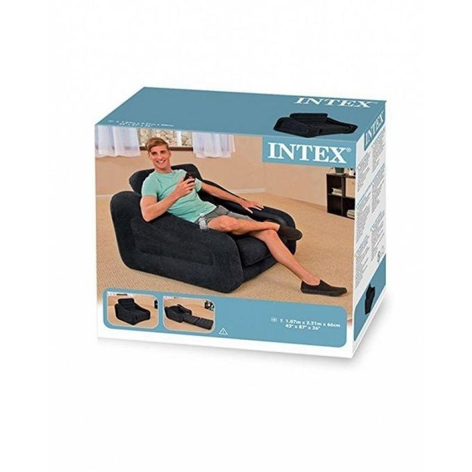 Buy Intex Inflatable One Seater Pull Out Chair – Black Online At Within Intex Pull Out Chairs (Image 2 of 20)