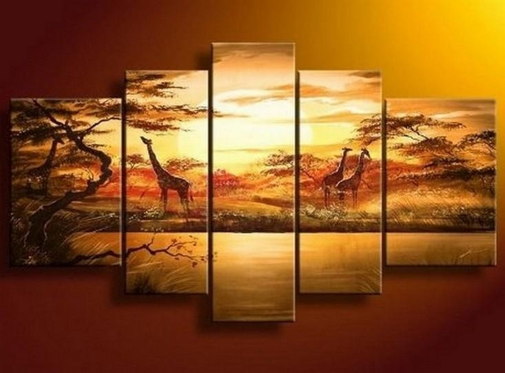 Buy Painting, Buy Oil Painting, Buy Abstract Art Throughout Canvas Landscape Wall Art (View 14 of 20)