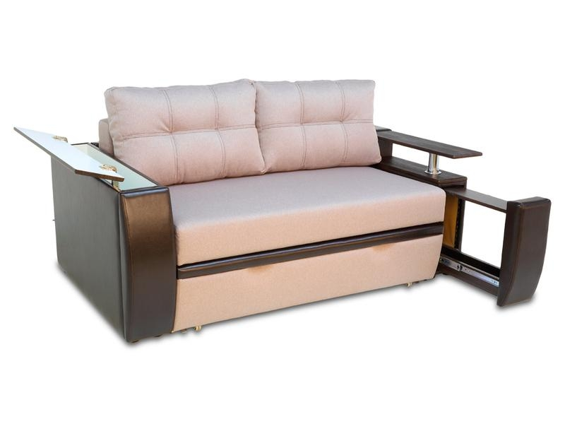 Buy Sofa Bed Mustang Mini 2 Seater Euro Sofa With Pull Out Pop Up Regarding Euro Sofas (Image 6 of 20)