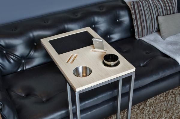 Caddy: You And Your Sofa's Best Friend – Design Milk Intended For Sofas With Drink Holder (Image 7 of 20)