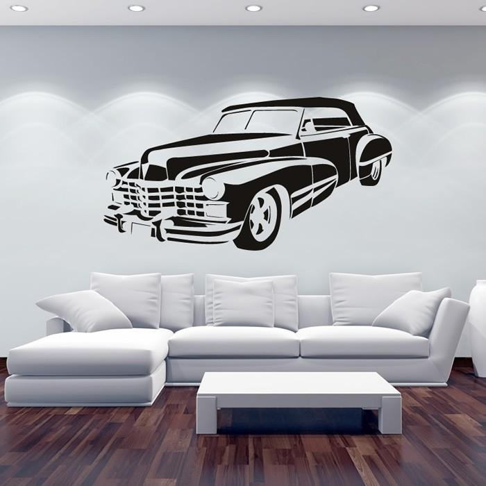 Featured Image of Classic Car Wall Art