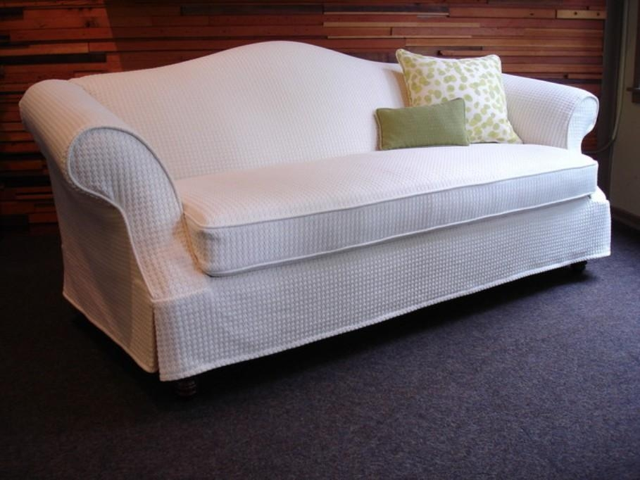 Camel Back Sofa With Skirt – Elliots Better Homes Gardens Ideas Throughout Camel Back Couch Slipcovers (Image 7 of 20)