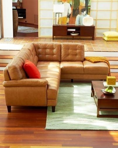 Camel Colored Leather Sofa – Home And Design | Home Design Inside Camel Colored Leather Sofas (Image 9 of 20)
