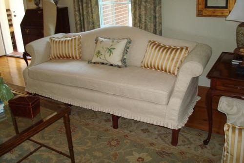 Camelback Sofa Slipcovers – Sofa A Throughout Camel Back Couch Slipcovers (Image 10 of 20)