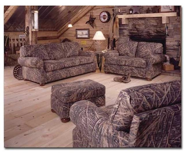 Camo Furniture Pertaining To Camouflage Sofas (Image 8 of 20)