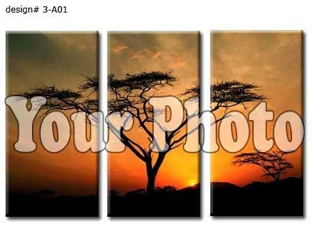 Canvas 3 Panels Prints, 3 Piece Canvas Set With 3 Set Canvas Wall Art (Image 9 of 20)