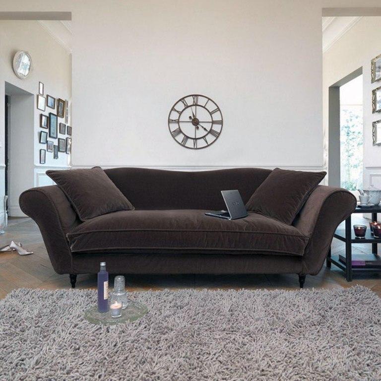 Captivating Velvet Sofa Designs – Rilane Throughout Brown Velvet Sofas (View 3 of 20)