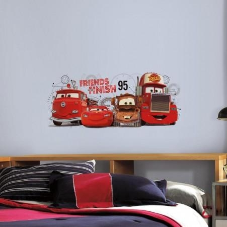 Cars Wall Decals | Cars Wall Stickers | Roommates With Lightning Mcqueen Wall Art (Image 6 of 20)