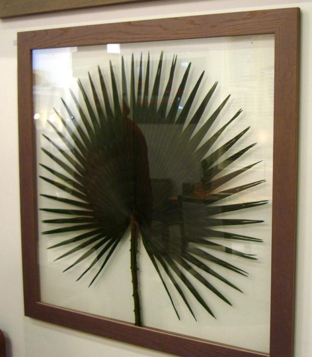 Carved Wood Palm Leaf Wall Art In Palm Leaf Wall Art (View 20 of 20)