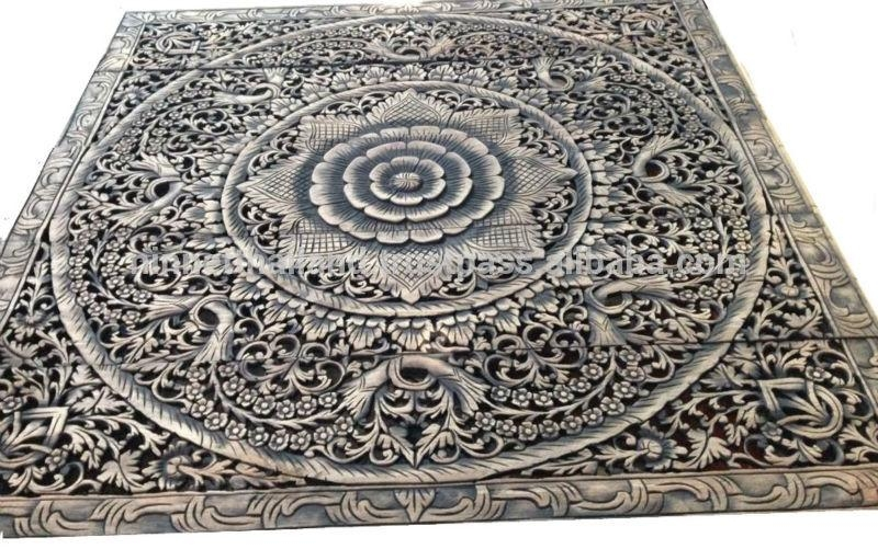 Carved Wood Panels Wall Art – Buy Wood Carving,teak Wood Carving Intended For Wooden Wall Art Panels (Image 7 of 20)