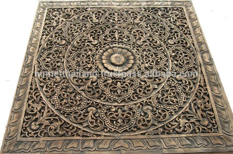 Carved Wood Panels Wall Art – Buy Wood Carving,teak Wood Carving Regarding Wood Carved Wall Art Panels (View 8 of 20)