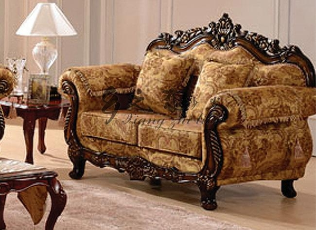 Carved Wood Sofa Set | Goodca Sofa Regarding Carved Wood Sofas (Image 4 of 20)