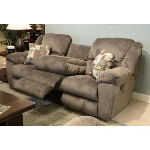 Catnapper Seal Transformer Reclining Sofa With 3 Recliners Pertaining To Catnapper Sofas (Image 7 of 20)