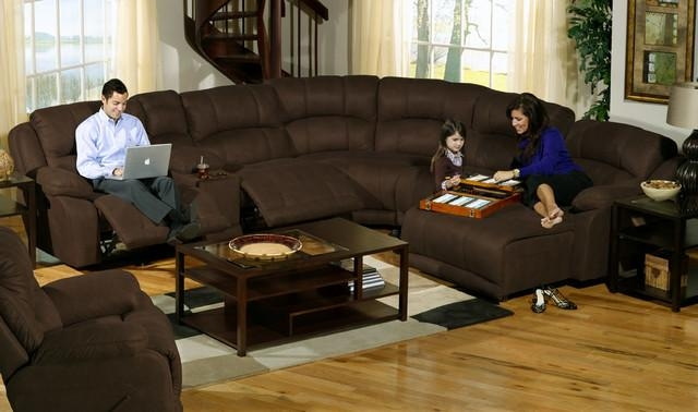 Catnapper Sofa Living Room Contemporary With Catnapper Sectional In Catnapper Sofas (Image 10 of 20)
