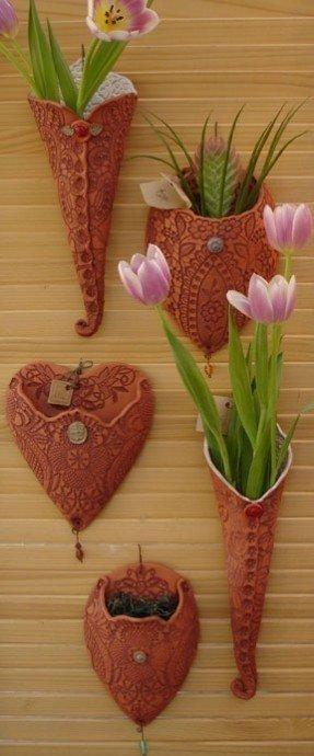 Ceramic Flower Wall Art – Foter Within Ceramic Flower Wall Art (Image 11 of 20)