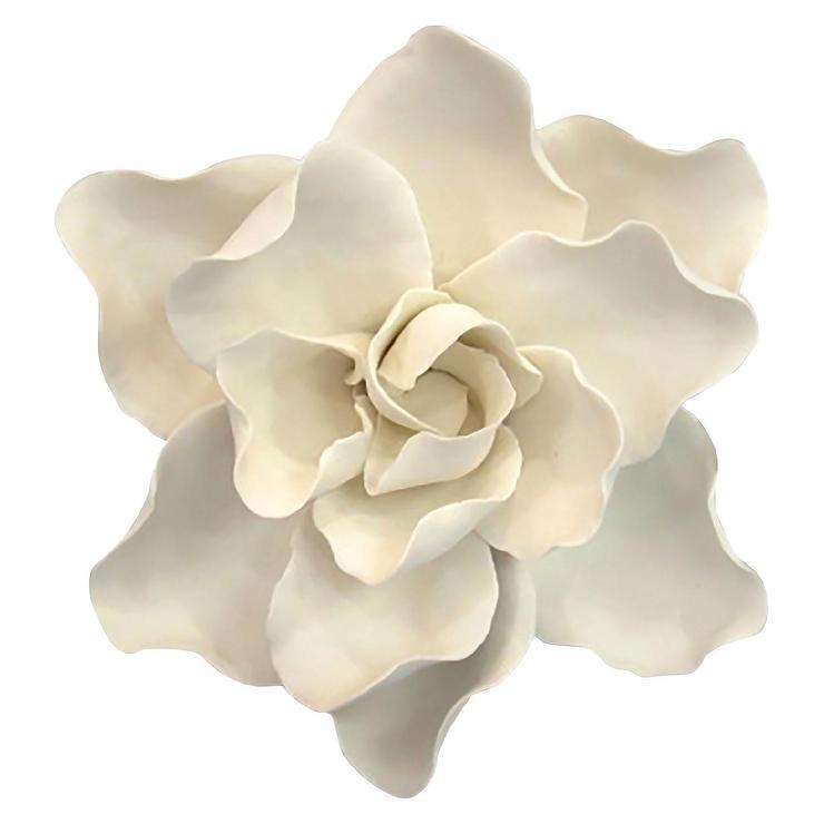 Ceramic Flower Wall Art With Ceramic Flower Wall Art (Photo 2 of 20)