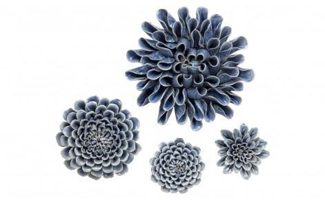 Ceramic Flowers For Ceramic Flower Wall Art (Image 17 of 20)