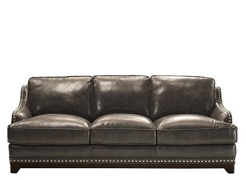 Charcoal Grey Leather Sofa At 1Stdibs Inside Charcoal Leather Sofa Inside Charcoal Grey Leather Sofas (View 11 of 20)